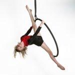 Aerial Hoop Luftakrobatik | Kinder Kurse im Circus Center Bruck/Mur