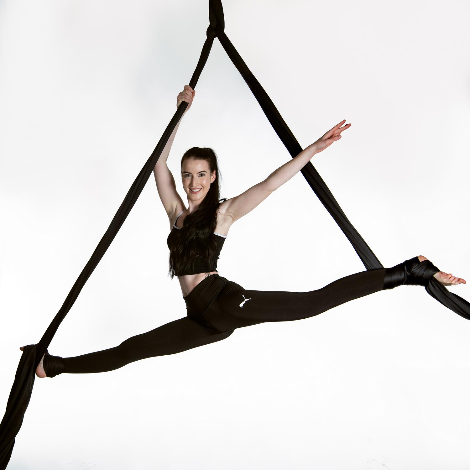 AERIAL SILK & HOOP TEENS & ADULTS